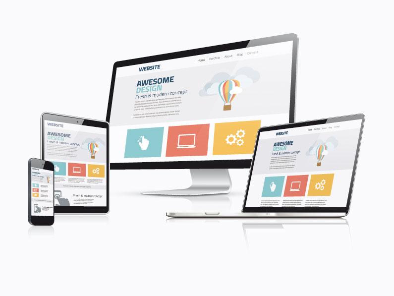 responsive Webseite mit WordPress